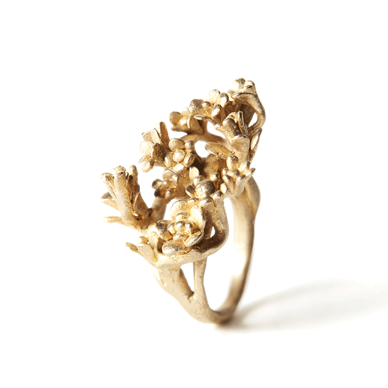 Giuliatamburini -  Blossom II Bronzo giallo