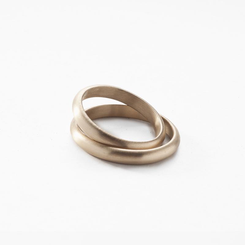 Giuliatamburini - Fedi Classic wedding rings in white gold