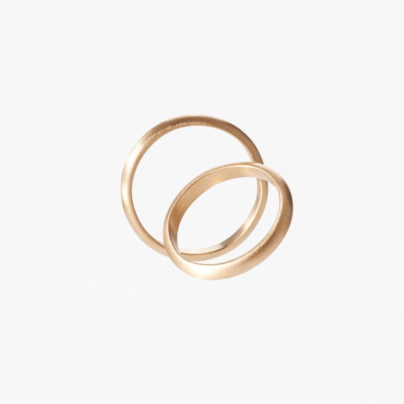 Giuliatamburini - Fedi Classic wedding rings in yellow gold