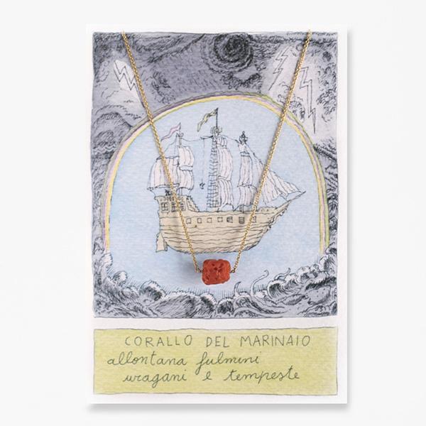 Giuliatamburini -  Corallo del marinaio Bronzo dorato