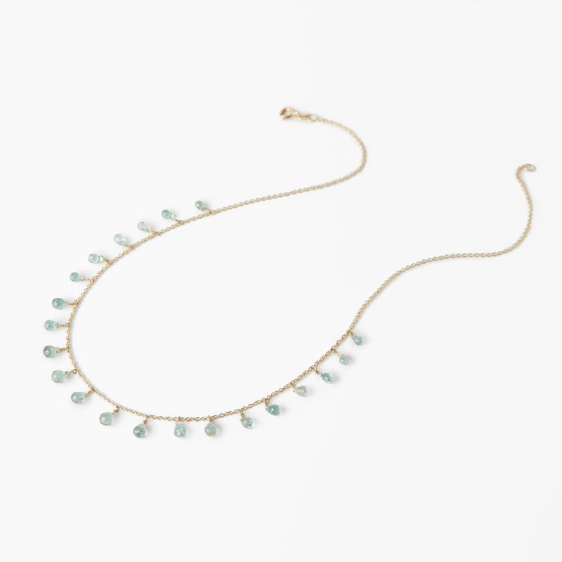 Giuliatamburini - Collane Essenziale light blue sapphires Oro gialo 18 kt