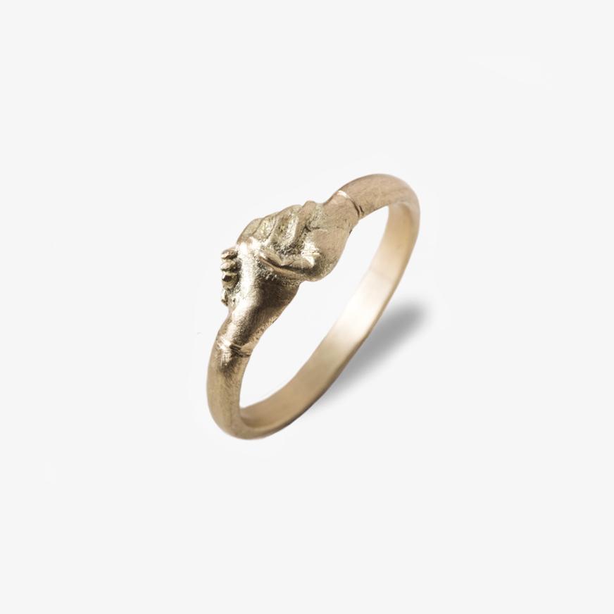 Giuliatamburini -  Medieval wedding ring Oro giallo 18 kt