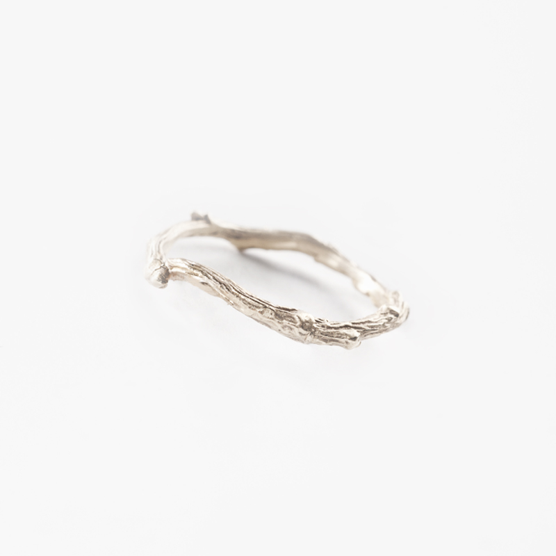 Giuliatamburini - Fedi Flora wedding ring