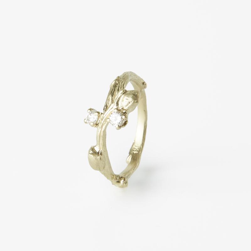Giuliatamburini -  Gea II Oro giallo 18 kt e diamanti