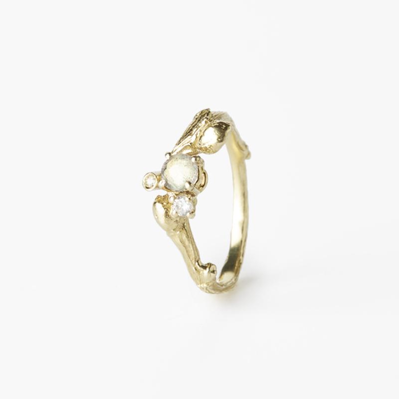 Giuliatamburini -  Gea VI Oro giallo 18 kt e diamanti