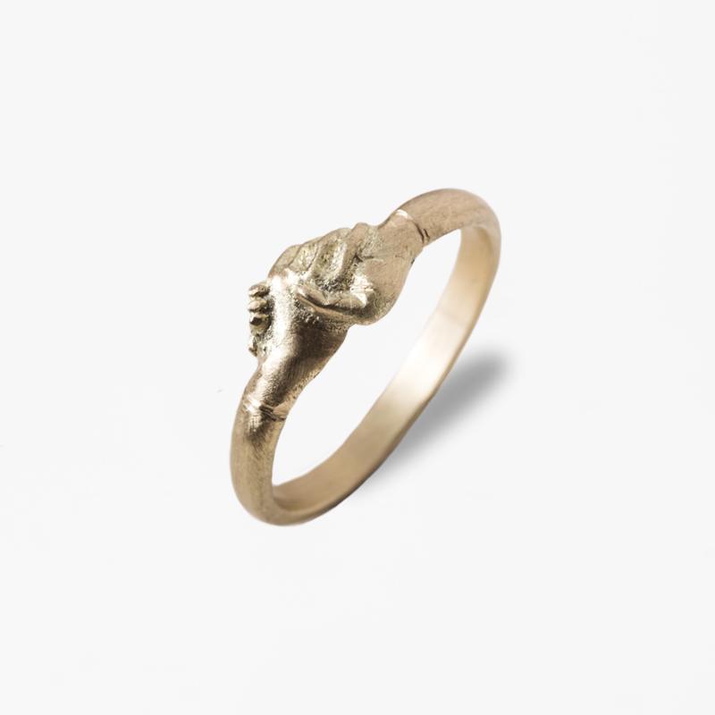 Giuliatamburini - Fedi Medieval wedding ring