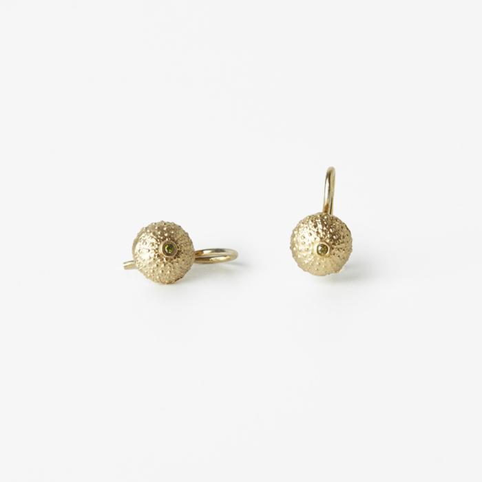 Giuliatamburini -  Riccio di mare Argento dorato