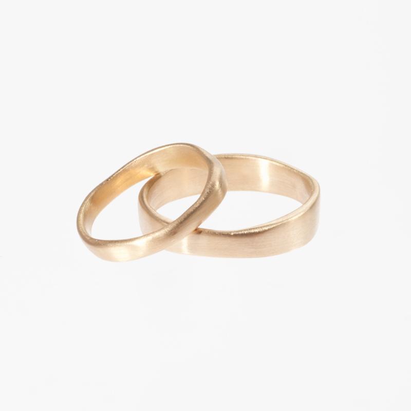 Giuliatamburini - Fedi Tao wedding rings