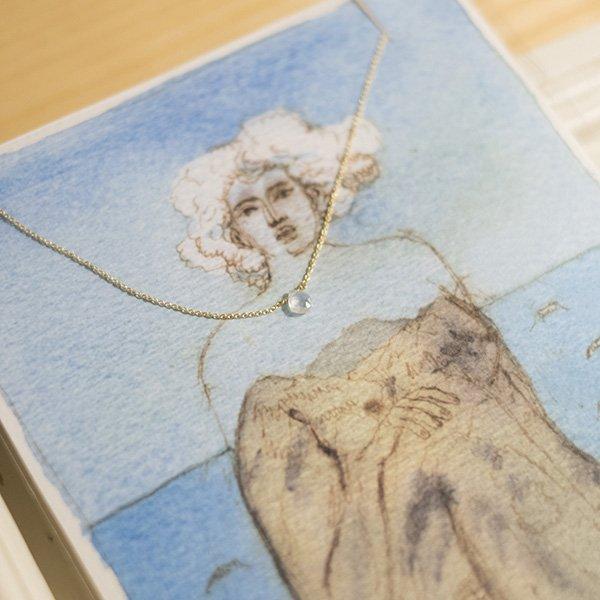 Cartoline gioiello Essenziale goccia