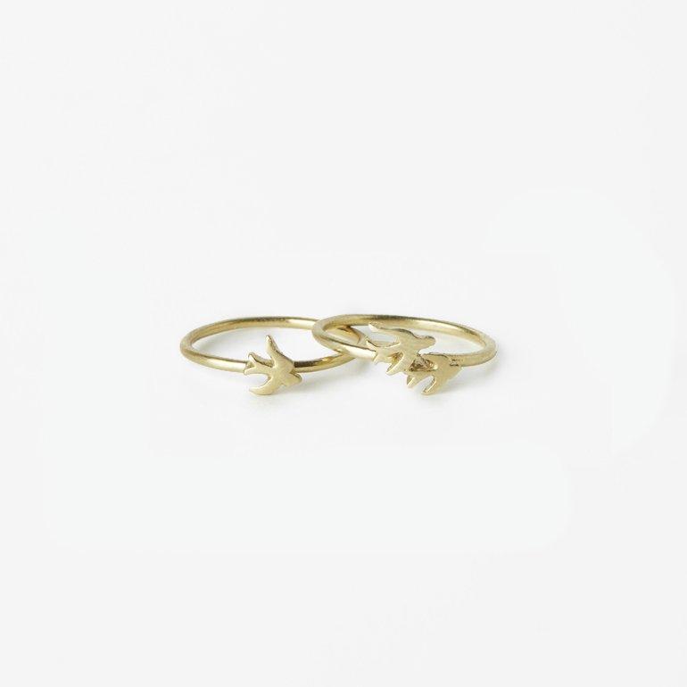 Giuliatamburini -  Rondine I Bronzo giallo