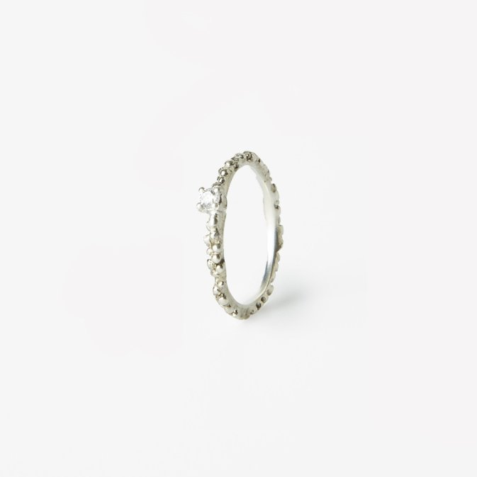 Giuliatamburini -  Nautilus Argento 925 con zircone bianco